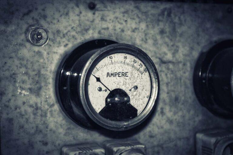Ampere-Leistungsmessung